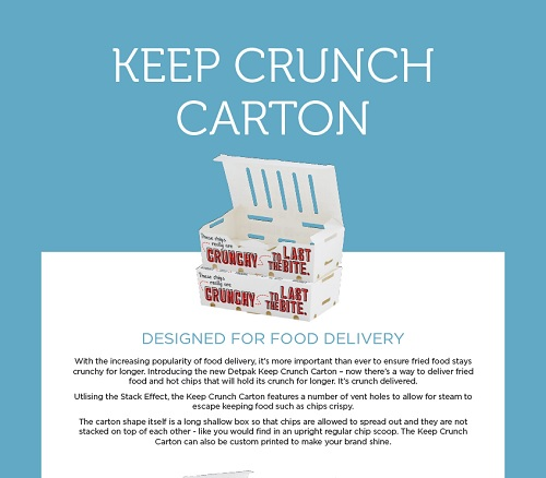 KEEP CRUNCH CARTON - INTERNATIONAL