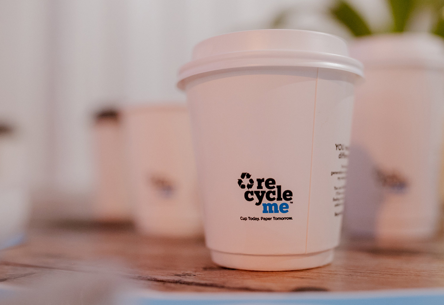 Image of RecycleMe cups
