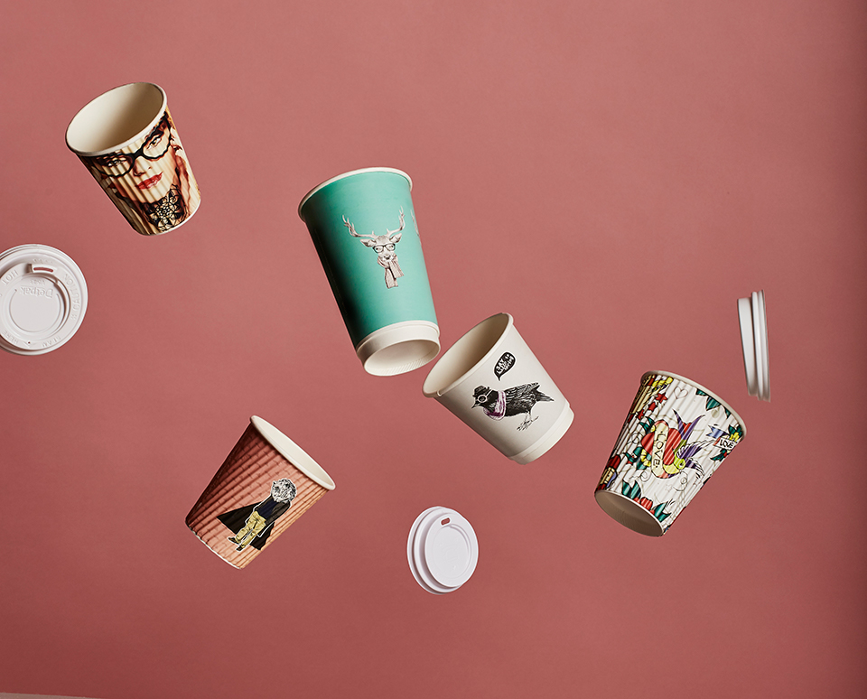 Custom Print Coffee Cups