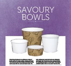 SAVOURY AND WHITE BOWLS