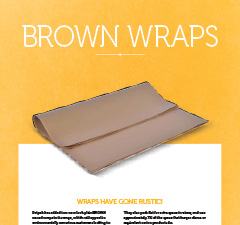 BROWN WRAP