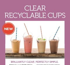 Detpak Clear Recyclable Cups PET Brochure Thumbnail Image