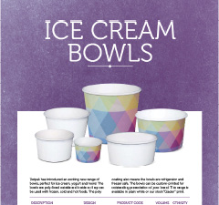 ICE CREAM BOWLS - AUS NZ