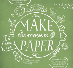 MAKE THE MOVE TO PAPER BROCHURE