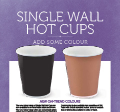 SINGLE WALL HOT CUPS - AUS NZ