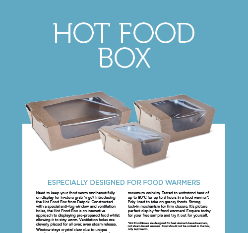Hot Food Box Brochure