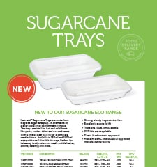 I am Eco Sugarcane Trays