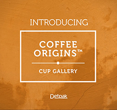 COFFEE ORIGINS - PE RANGE