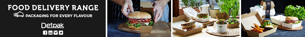 FOOD DELIVERY WEB BANNER WIDE BURGER GARDEN FRESH BURGERS