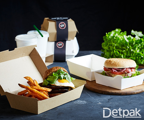 Facebook - Food Delivery Burgers