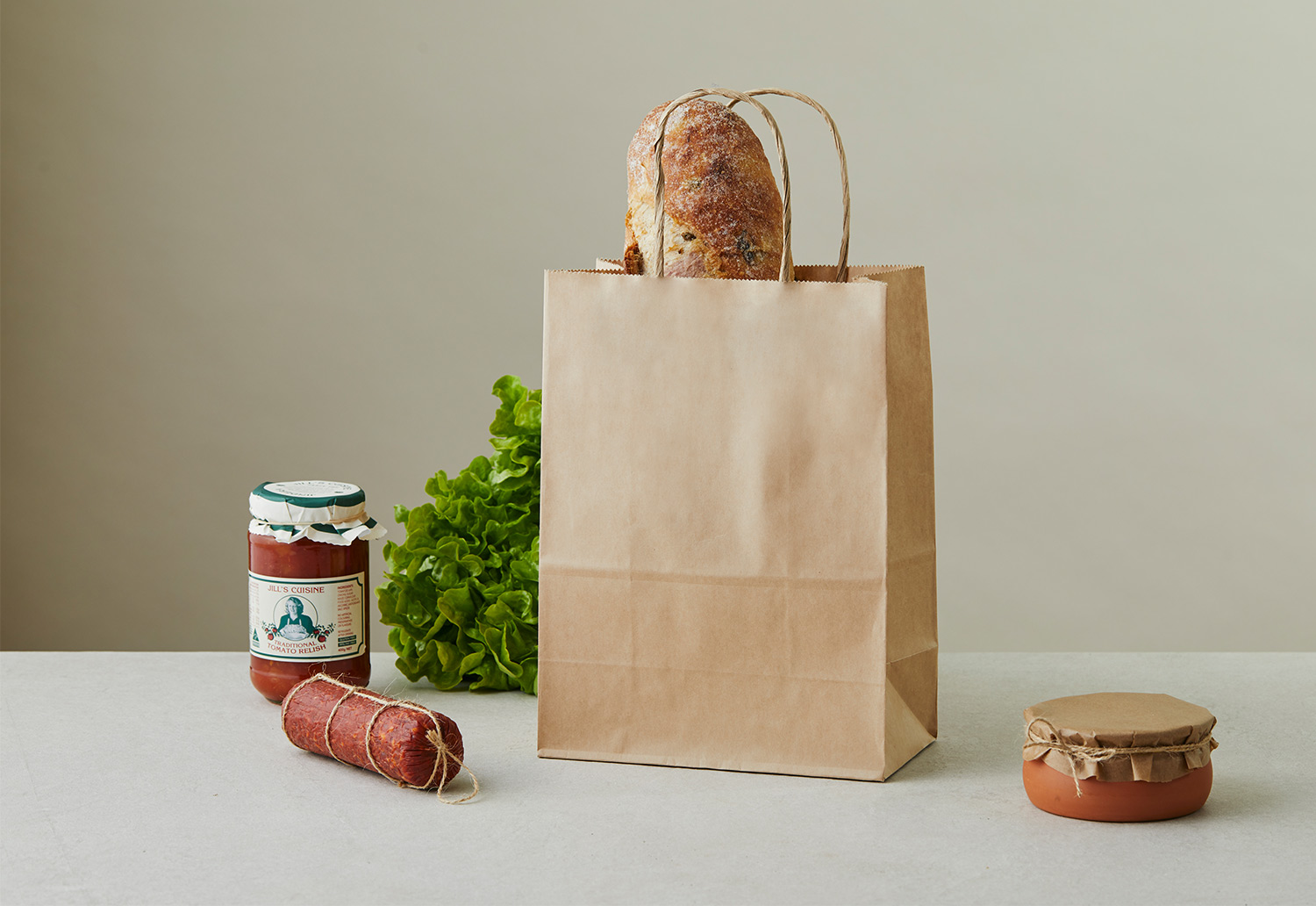 Image of sustainable brown paper bag from Detpak