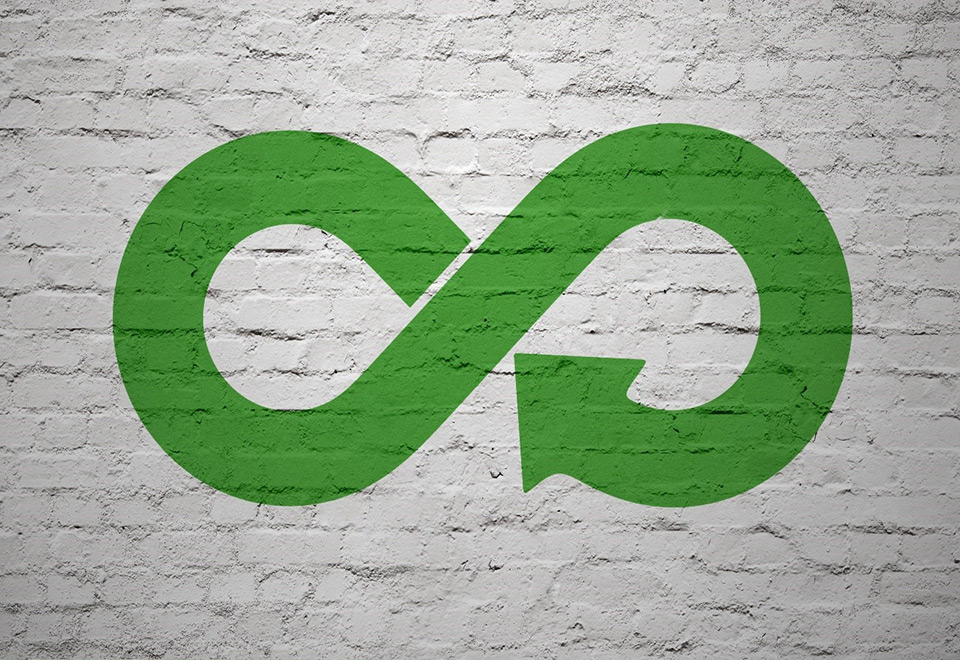Image of loop on a wall