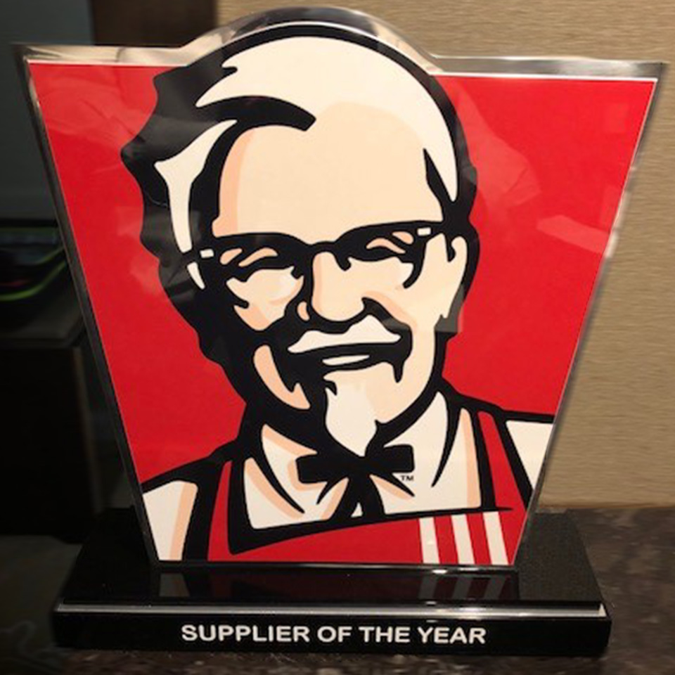 Image of KFC Supplier of the Year Award