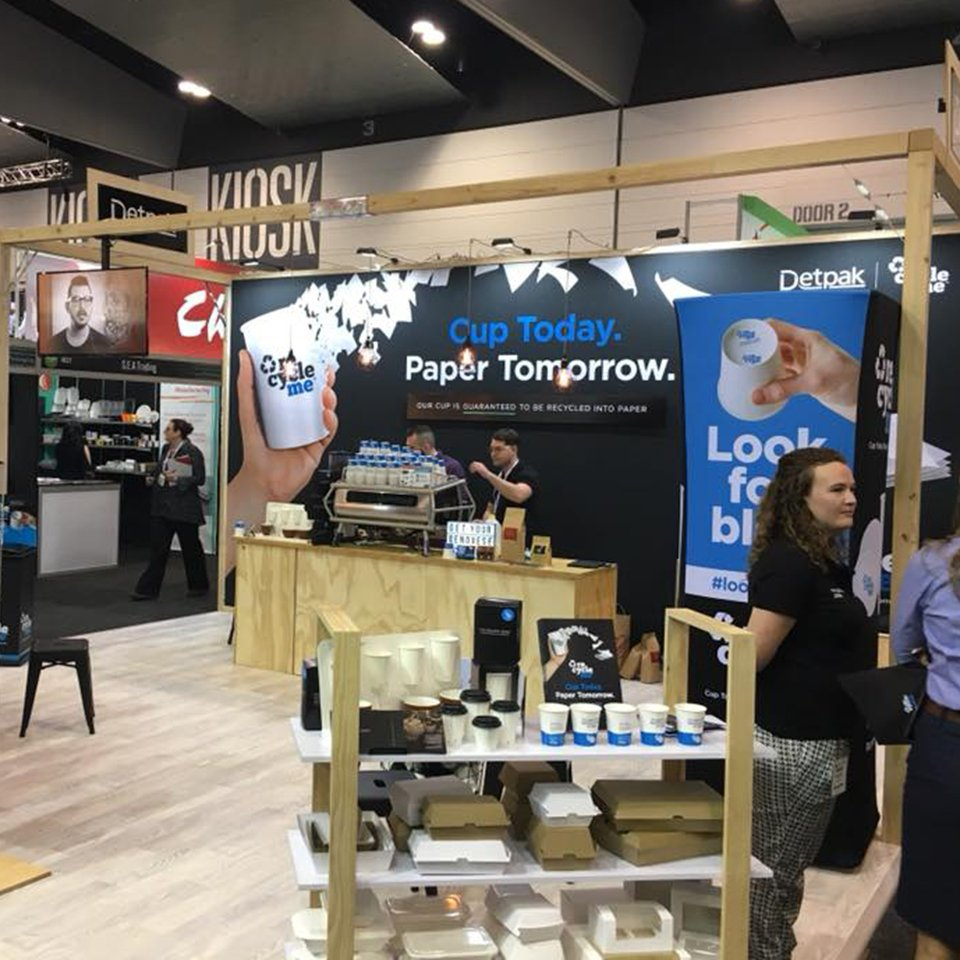 Detpak Stand at Fine Food Australia 2018
