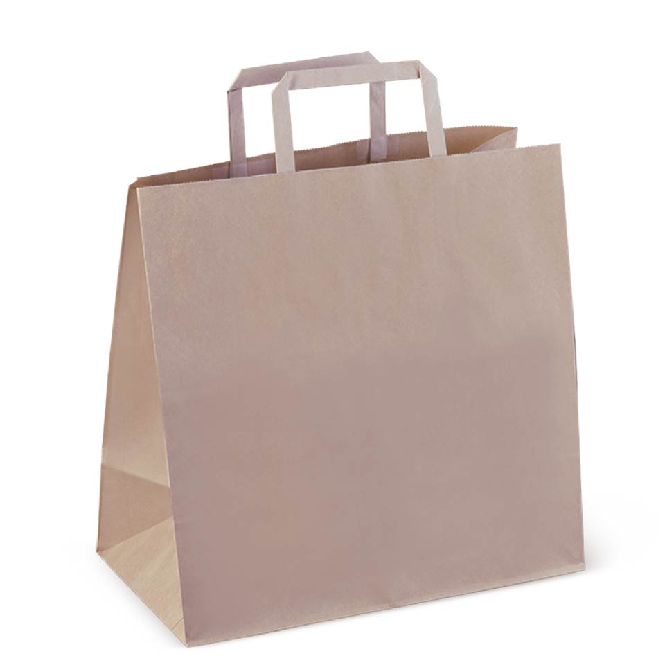 Image of wide based paper bag