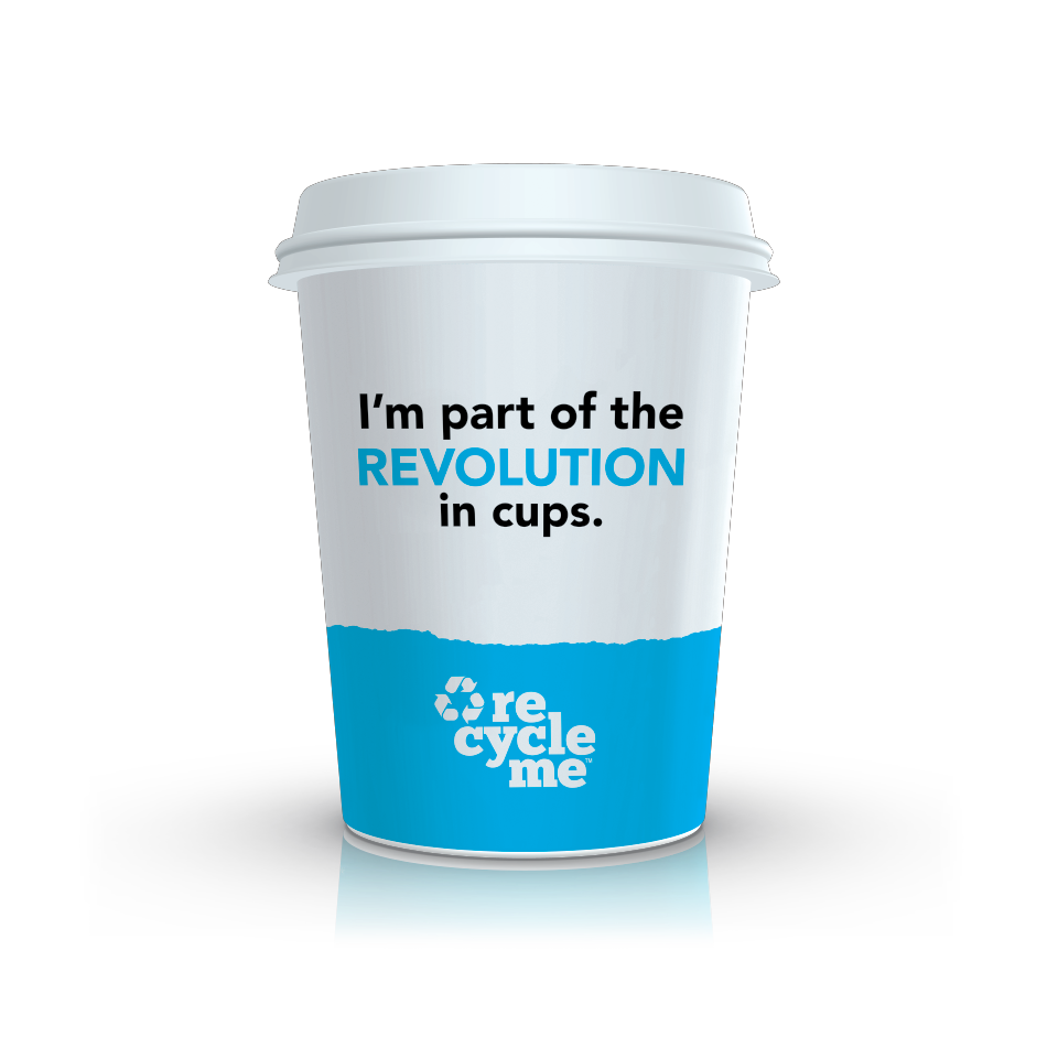Image of Detpak RecycleMe cup