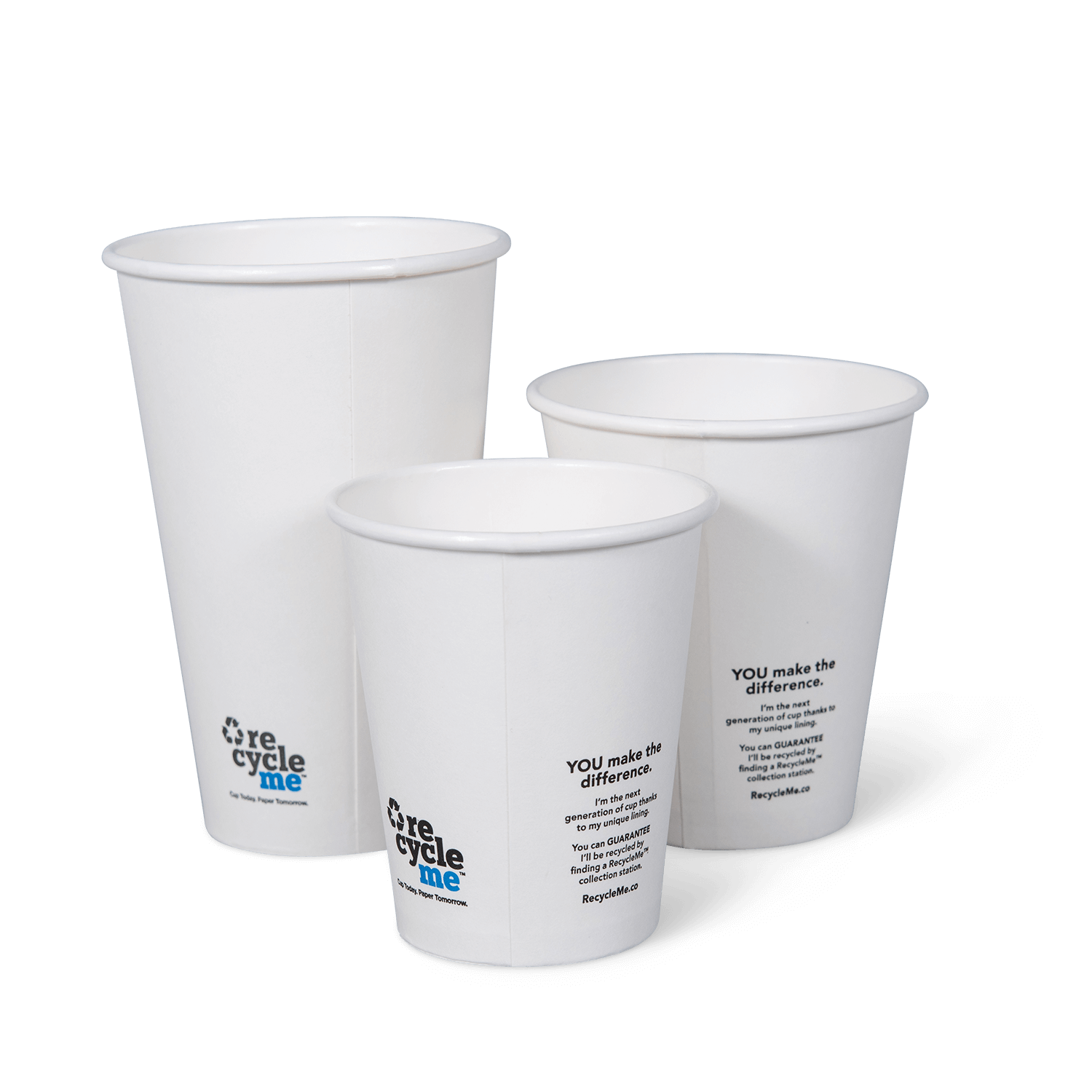 RecycleMe™ Hot Cups