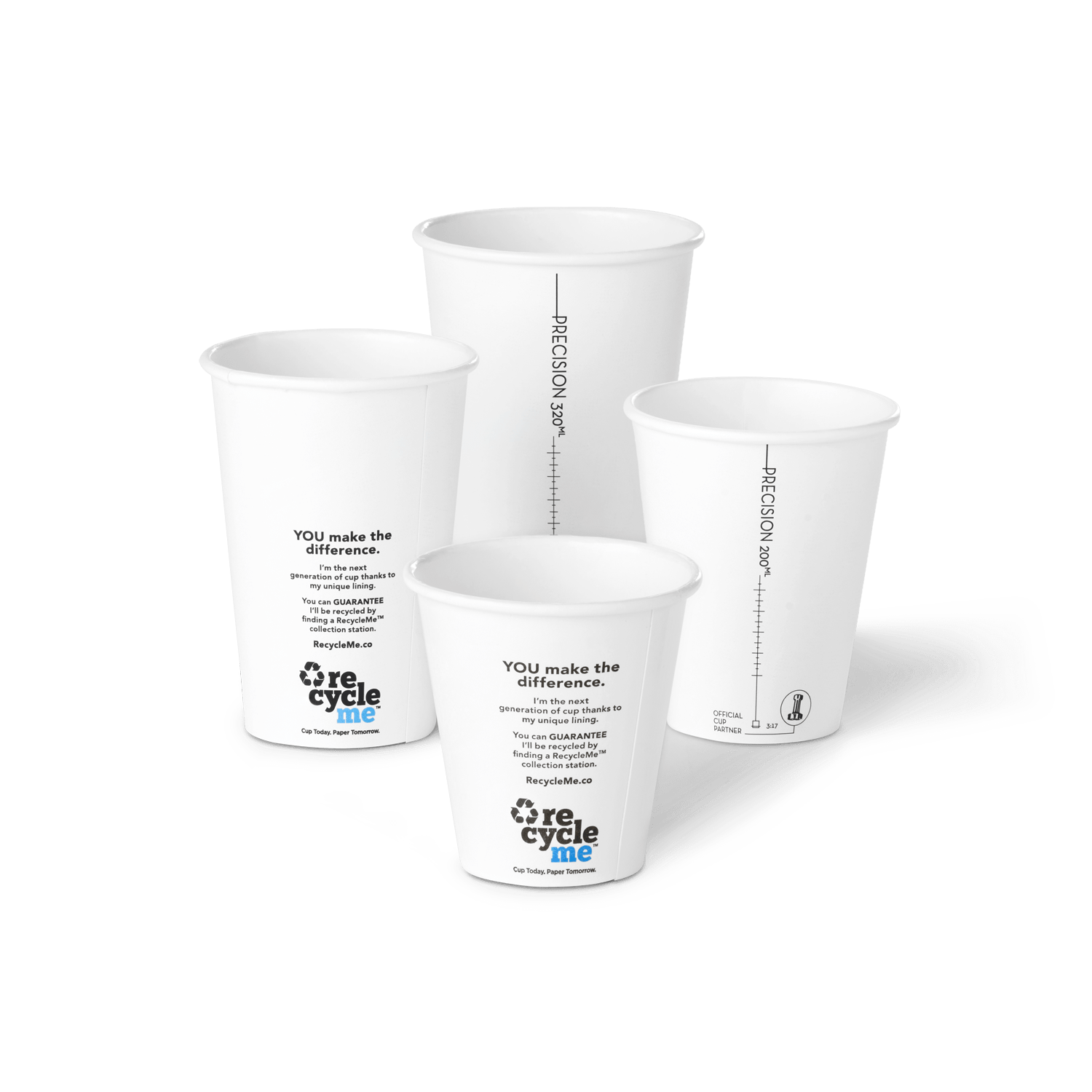 Recyclable Takeaway Coffee Cups | RecycleMe™ Paper Cups
