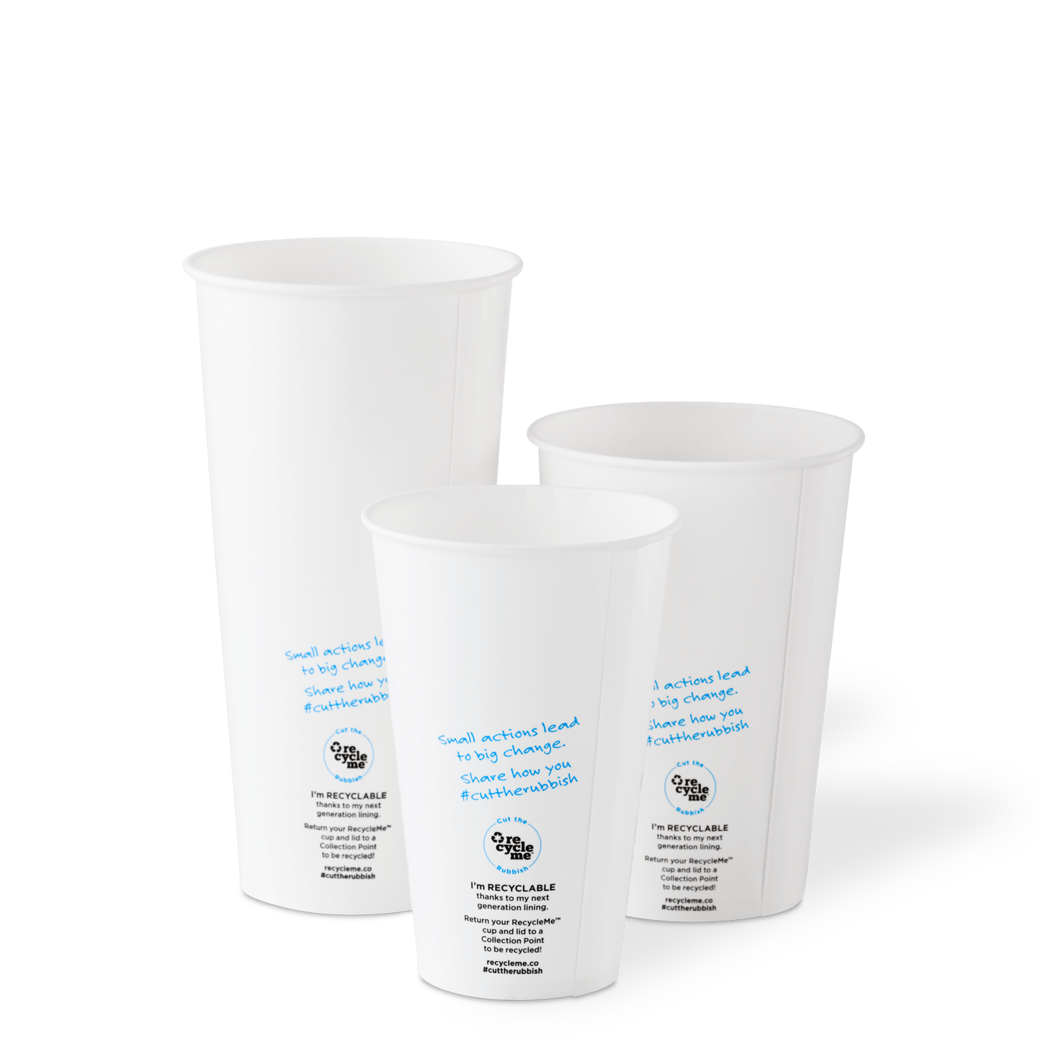 RecycleMe™ Cold Cups